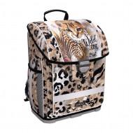 Ранец с пластиковым дном ErichKrause ErgoLine 16L Wild Cat