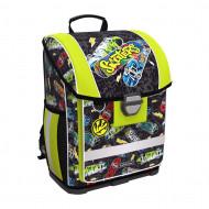 Ранец с пластиковым дном ErichKrause ErgoLine 16L Neon Skate