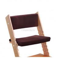 Комплект подушек для стула из бука Конёк Горбунёк Гранат