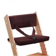 Комплект подушек для стула из бука с ограничителем Гранат