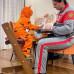 Стульчик Конёк Горбунёк Комфорт Бело-оранжевый купить с доставкой по России.✦ Надежность и качество. ✦ИМ Никасмайл✦