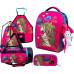 Ранец DeLune Full-set 7mini-022 + мешок + жесткий пенал + спортивная сумка + фартук для труда + мишка + ленточка